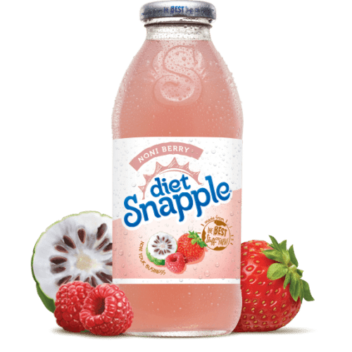 Snapple Diet Noni Berry Juice Drink