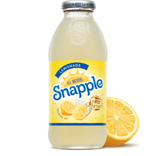 Snapple Lemonade Juice Drink