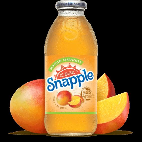 Snapple Mango Madness Juice Drink Southern Distributing