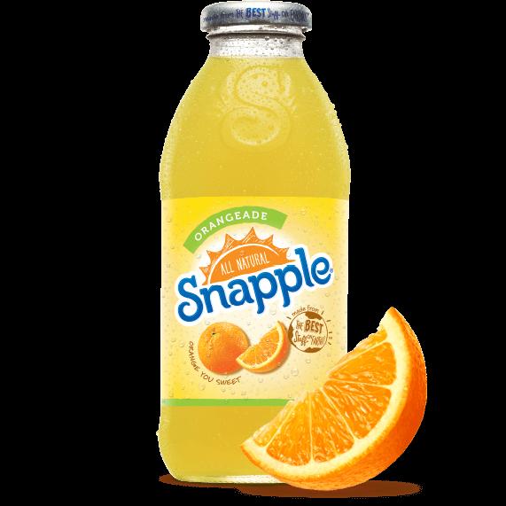 Snapple Orangeade Juice Drink