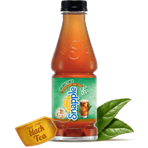Snapple Straight Up Unsweetened Tea