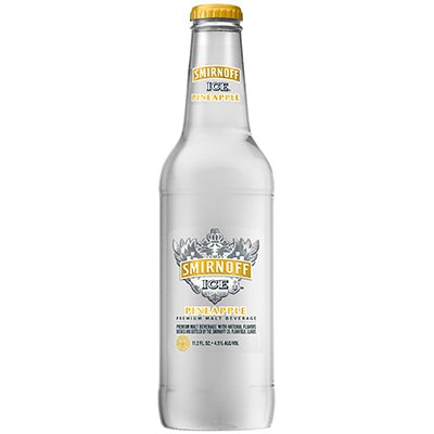 HR Smirnoff Ice Pineapple 11.2oz Front