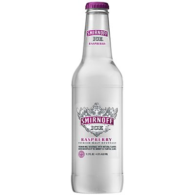 HR Smirnoff Ice Raspberry Front