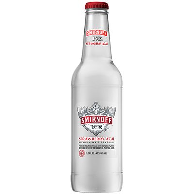 HR Smirnoff Ice Strawberry Acai 11.2oz Front