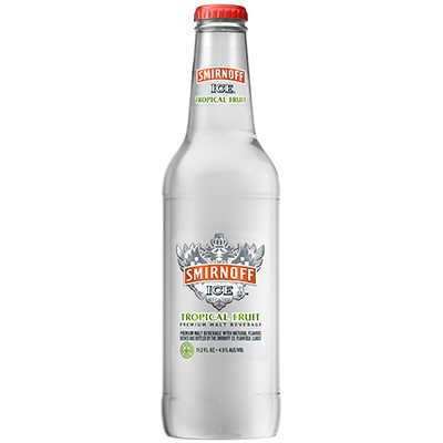 HR Smirnoff Ice Tropical Fruit 11.2oz Front