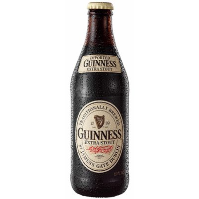 LR Guinness Extra Stout Bottle