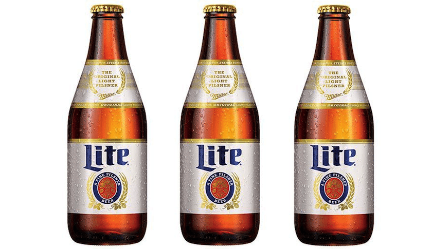 Image result for Miller Lite beer