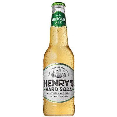 Henry's Hard Soda Ginger Ale 6pk LN