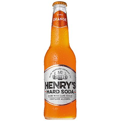 Henry's Hard Soda Orange 6pk LN